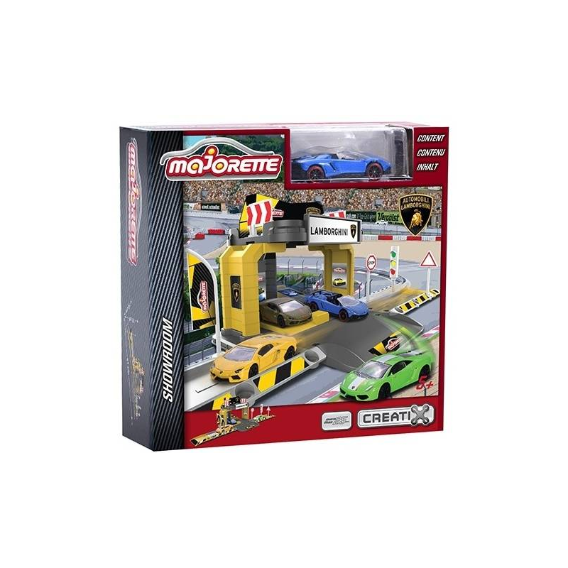 Игровой набор Парковка Lamborghini, Majorette, от 3 лет, Для мальчика, 471433, Таиланд  - купить со скидкой
