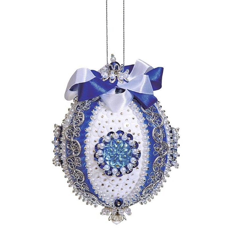 Волшебная мастерская Набор для творчества Шар синий Царский наборы для творчества волшебная мастерская мозаика из пайеток лилии