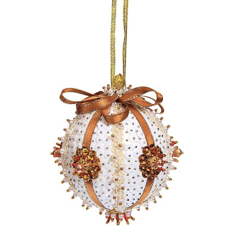 набор для творчества волшебная мастерская новогодний шар большой шф 03 Волшебная мастерская Набор для творчества Шар Нежность