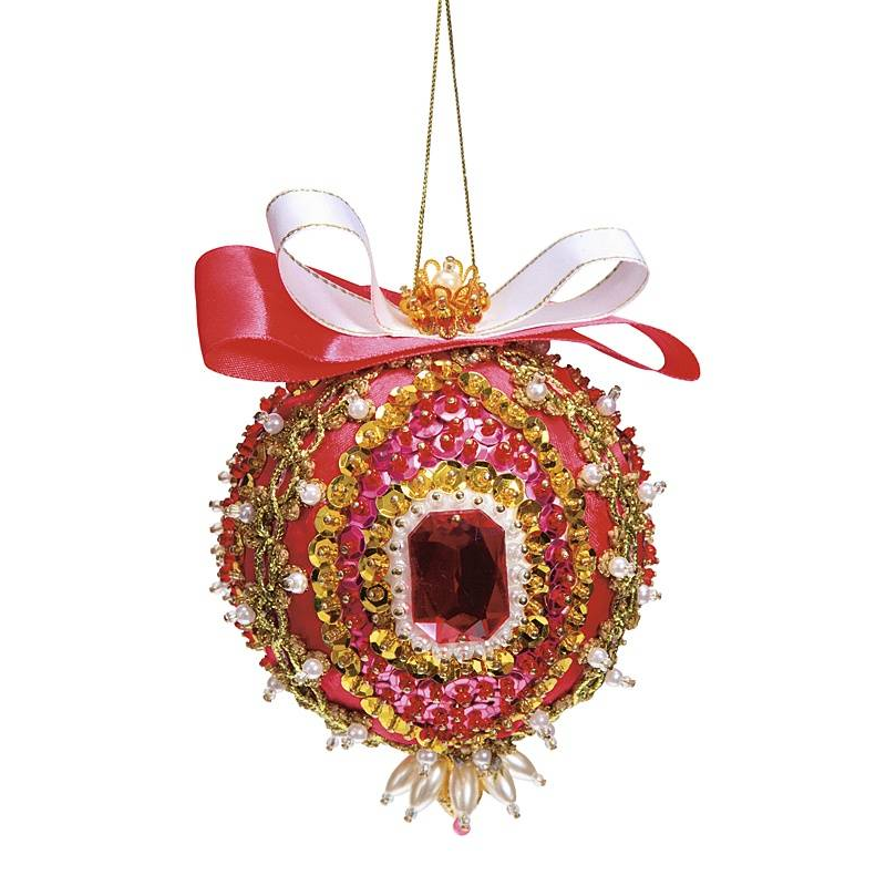 набор для творчества волшебная мастерская новогодний шар большой шф 03 Волшебная мастерская Набор для творчества Шар Кардинал Ришелье