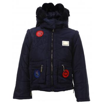 Девочки, Куртка De Salitto (синий)463735, фото