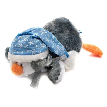 Игрушки, Мягкая игрушка Пингвин Кевин лежачий 25 см Maxitoys 472214, фото