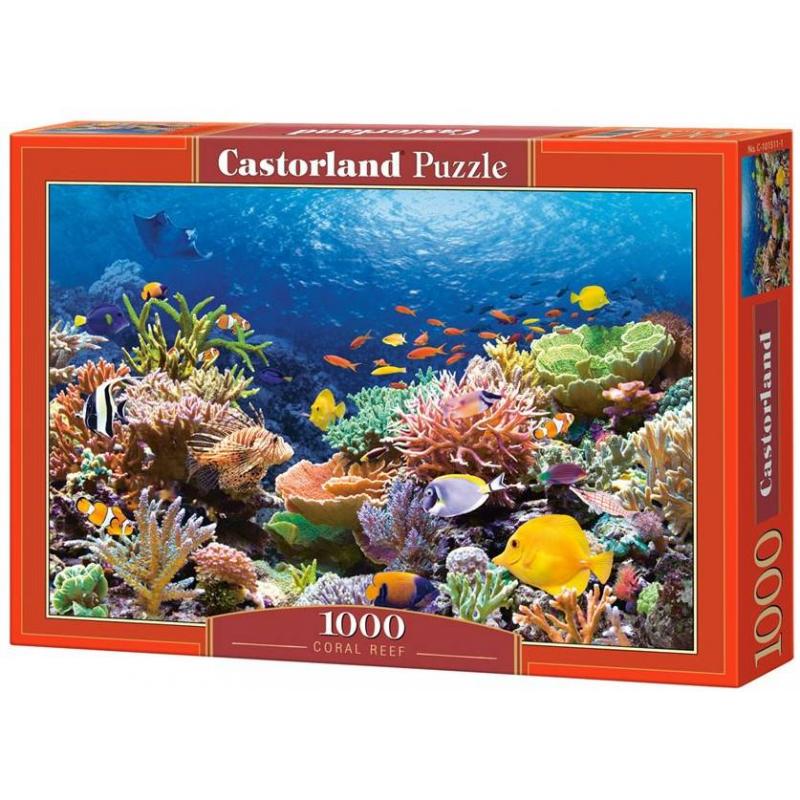 Castorland Пазл Коралловый риф 1000 деталей castorland пазл красная шапочка castorland 20 деталей