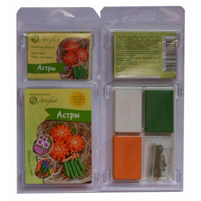 Artifact Набор для творчества Астры наборы для поделок апплика набор для творчества цветочный подарок астры
