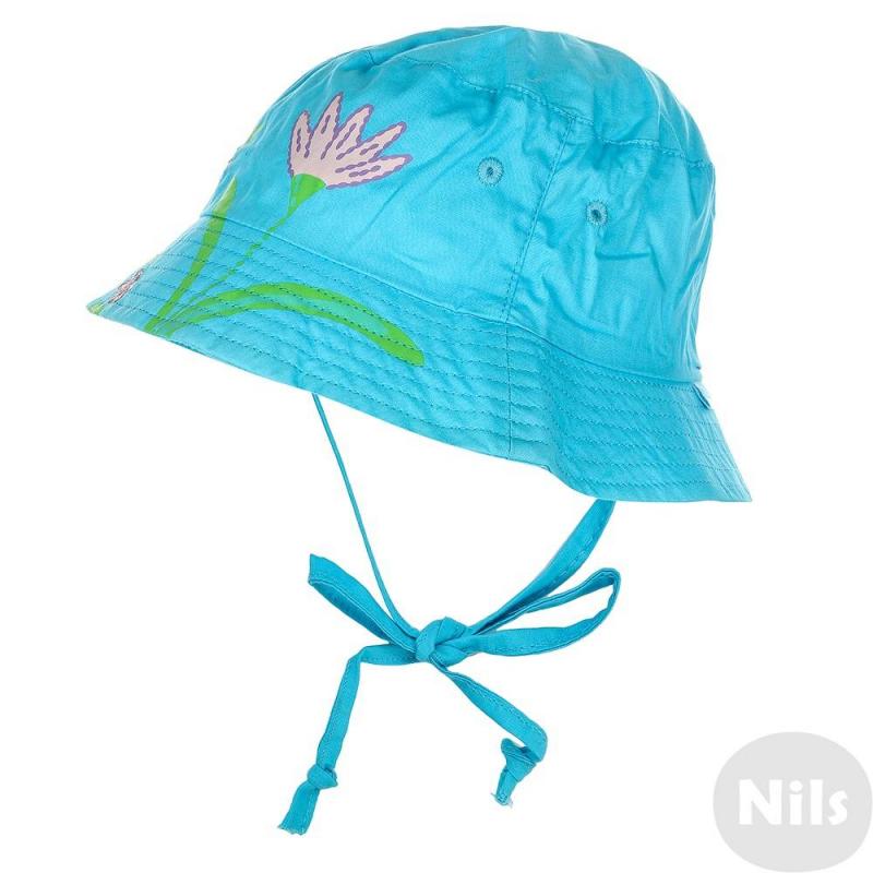 ПанамаПанамаголубого цвета марки Чудо-кроха для девочек. Летняя панама выполнена из чистого хлопка, незаменима для защиты от солнца.Панама украшена ярким принтом с цветами. Есть удобные завязки.<br><br>Цвет: Голубой<br>Размер шапки: 54<br>Пол: Для девочки<br>Артикул: 614894<br>Бренд: Россия<br>Страна производитель: Китай<br>Сезон: Весна/Лето<br>Состав: 100% Хлопок<br>Размер: Без размера