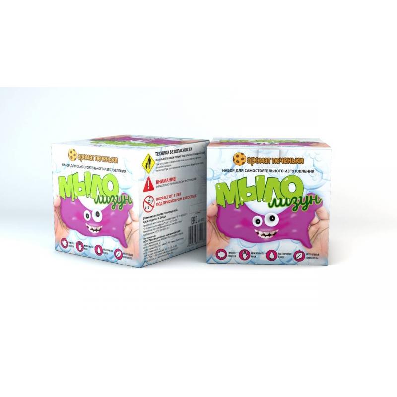 Инновации для детей Набор для опытов Мыло-лизун Печенька