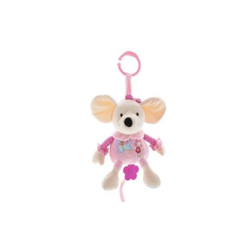 BabyOno Музыкальная игрушка-подвеска Мышка подвесные игрушки babyono музыкальная игрушка собачка вельвет