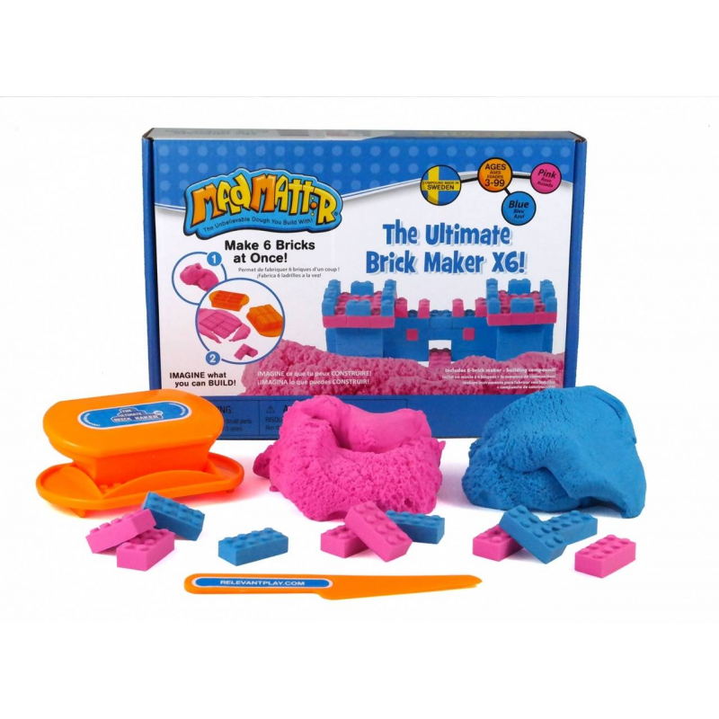 Mad Mattr Набор для лепки набор для лепки фантазер глина голубая 217011