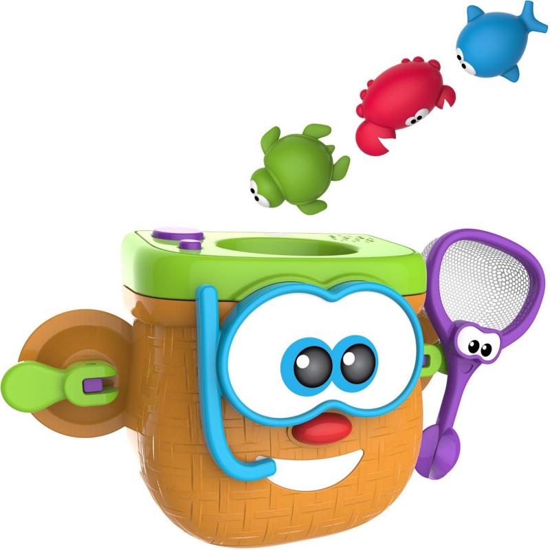 Игрушка для ванны Корзинка рыбака