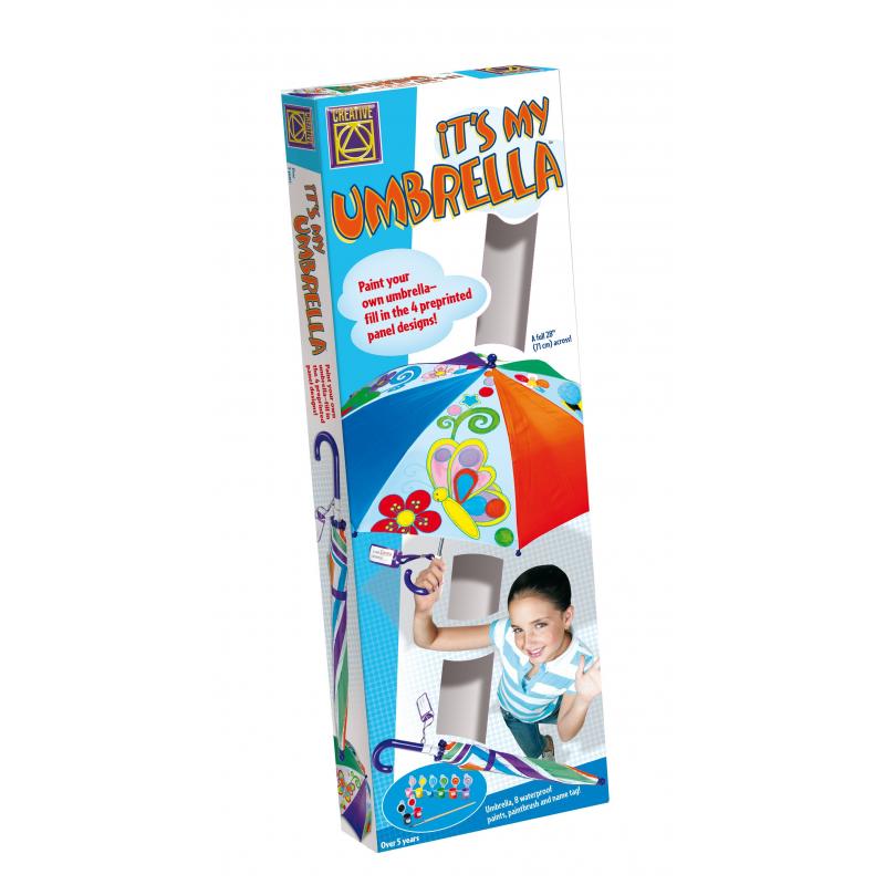 CREATIVE Набор Мой дизайнерский зонтик набор для творчества creative creative набор для творчества дизайнерские свечи стаканчики
