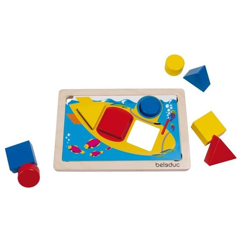 Beleduc Развивающая игра ГеоСортер аэлита развивающая игра цветные столбики