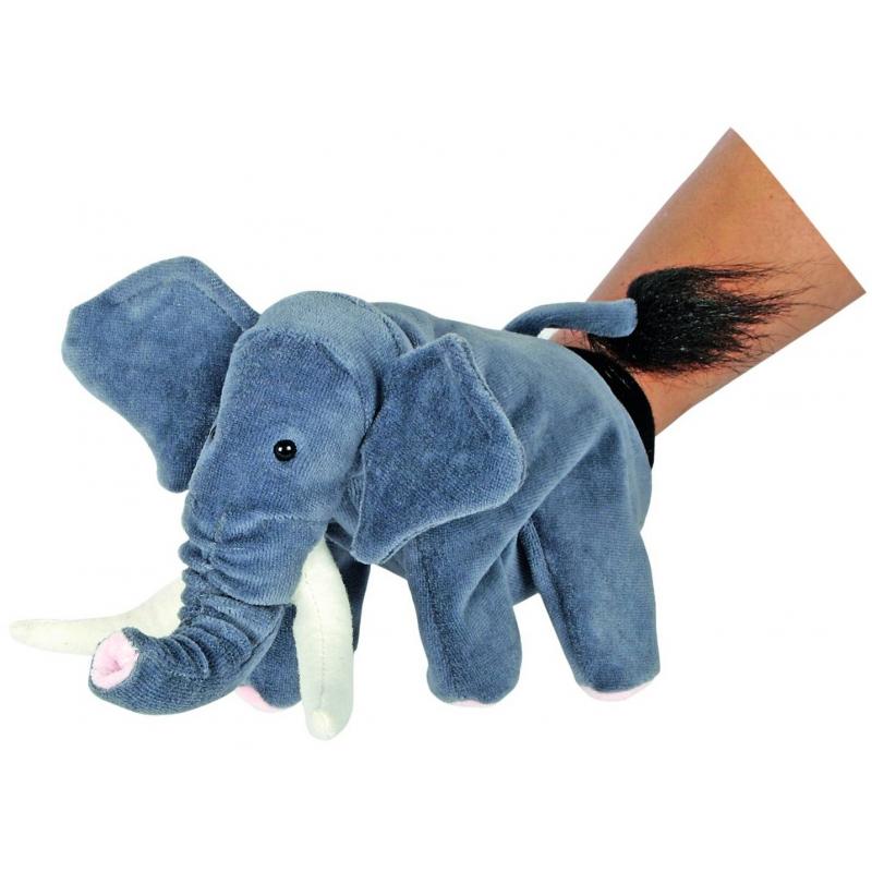 Кукла на руку Слон