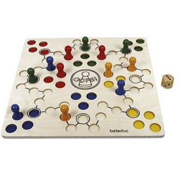 Игрушки, Развивающая игра Оопс Beleduc 657219, фото