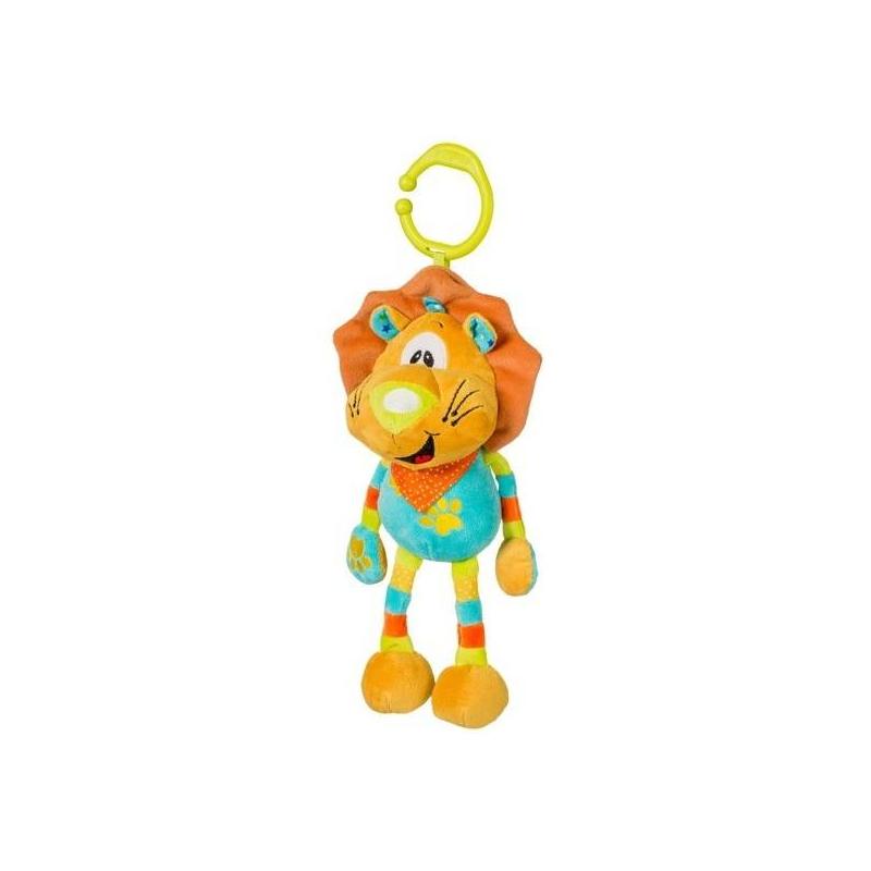 BabyOno Музыкальная игрушка-подвеска Солнечный Львёнок подвесные игрушки babyono музыкальная игрушка собачка вельвет