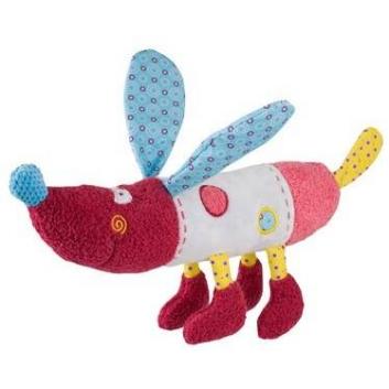 Игрушки, Мягкая игрушка Собачка Rob 37 см BabyOno 472635, фото