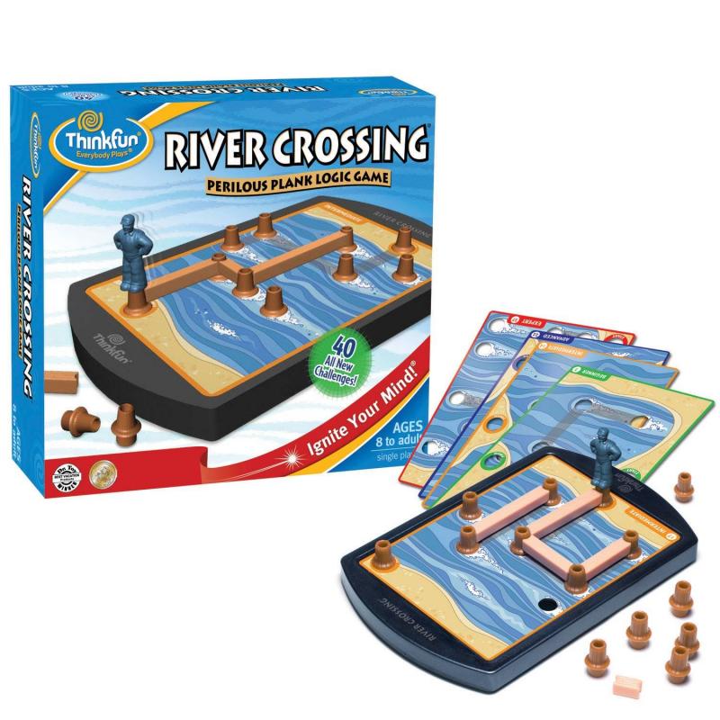 Купить Игра-головоломка Опасная переправа, THINKFUN, от 6 лет, Не указан, 614593, Китай