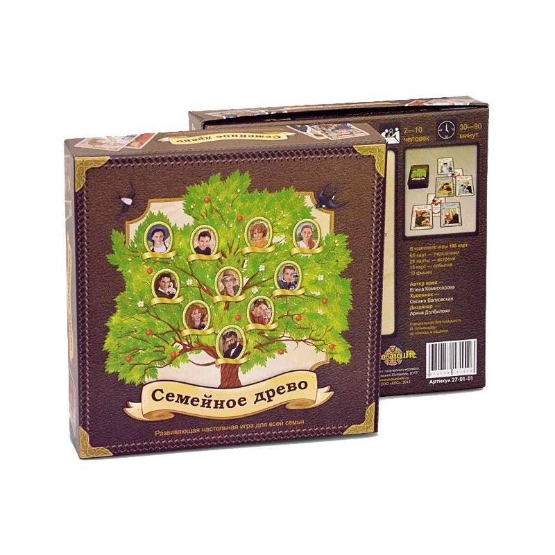 Настольная игра Семейное древо от Nils
