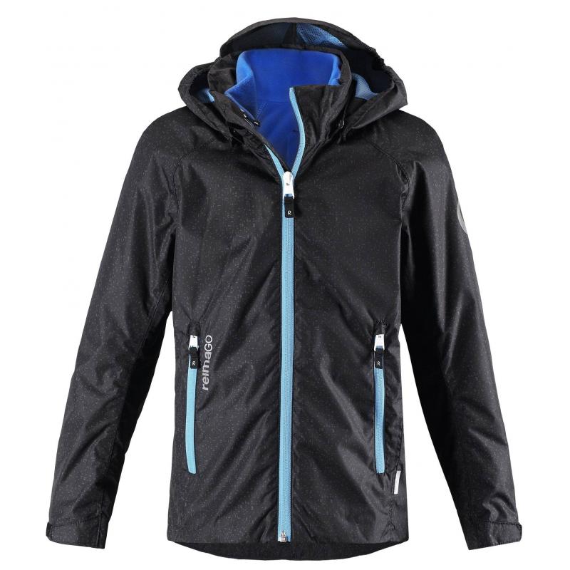 Купить Куртка Travel, REIMA, Черный, 7 лет, 122, Для мальчика, 112762, Демисезон, Весна/Лето, Китай