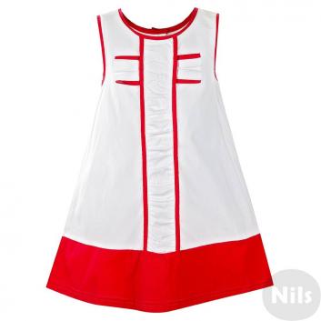 Девочки, Платье LP Collection (красный)615123, фото