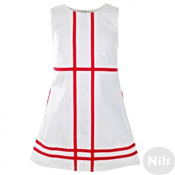 Девочки, Платье LP Collection (красный)615124, фото