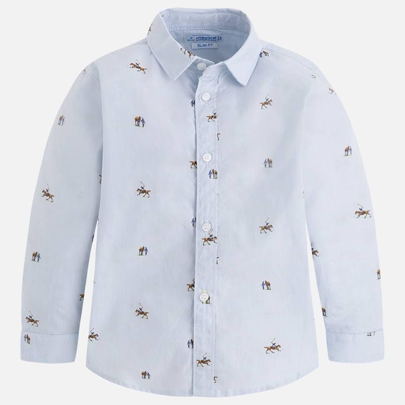 MAYORAL Рубашка куртка голубого цвета brums ут 00008775
