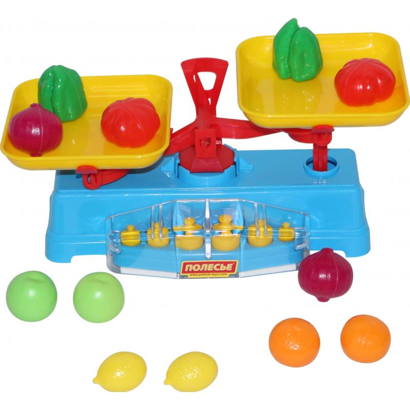 Cavallino Игровой набор Весы + набор продуктов набор метчиков 14х2мм 2 шт fit 70852