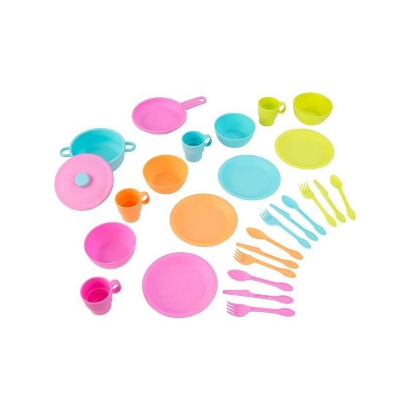 Игровой набор посуды Делюкс