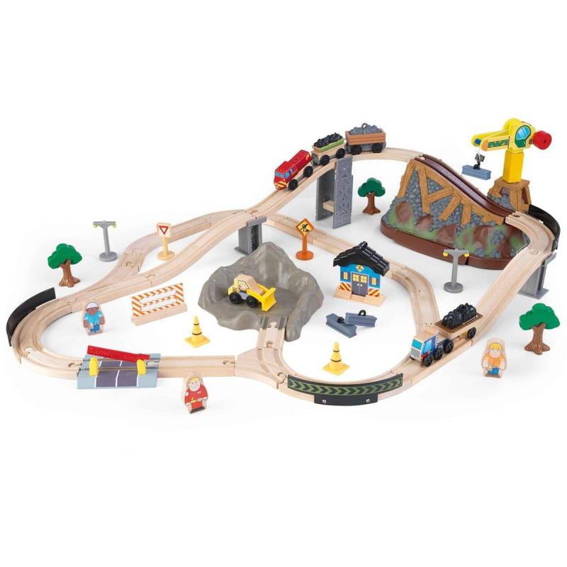 Деревянная железная дорога Горная стройка