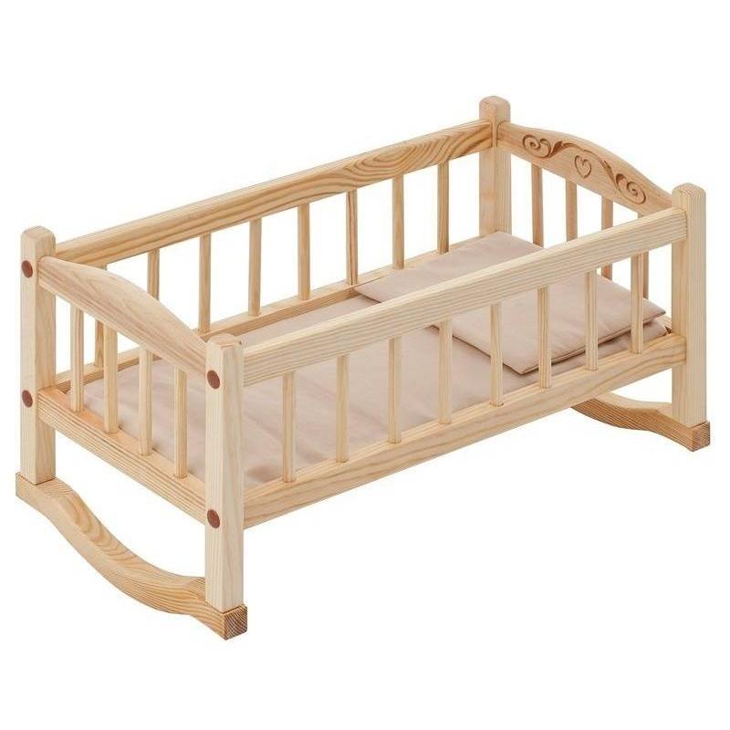Кукольная кроватка-люлька