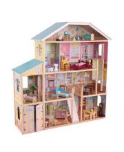 Кукольный дом для Барби Великолепный особняк с мебелью KidKraft