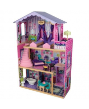 Кукольный дом для Барби Особняк мечты с мебелью KidKraft