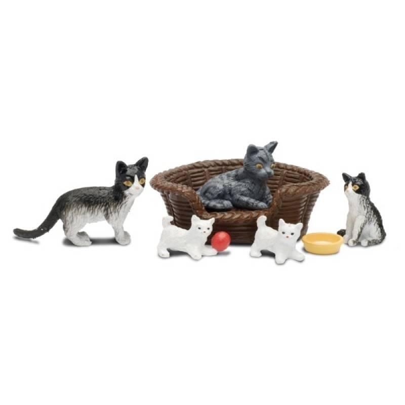Lundby Игровой набор Кошачья семья
