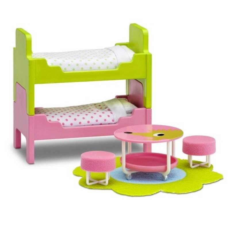 Набор кукольной мебели Смоланд Детская с 2 кроватями