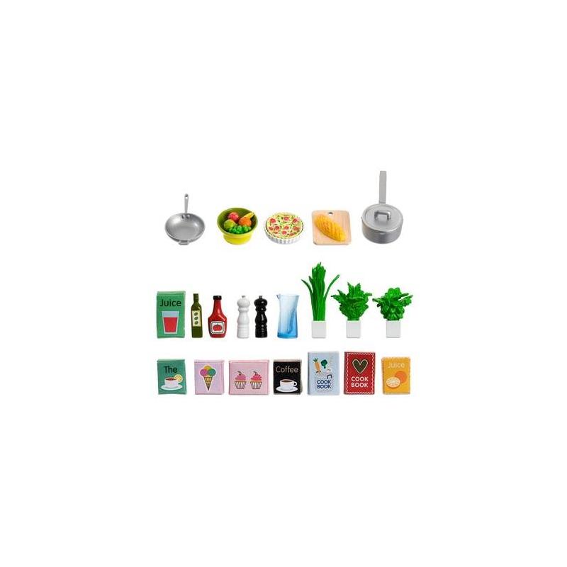 Аксессуары для домика Набор кухонных аксессуаров