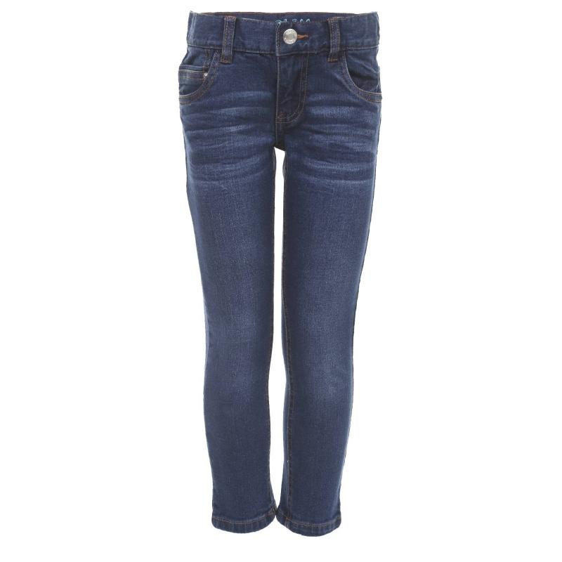 c427dbdba744 Стильные хлопковые джинсы Акула выгодно подчёркнуты декоративными  потёртостями. Модель дополнена внутренней регулируемой резинкой на талии,  шлёвками для ...