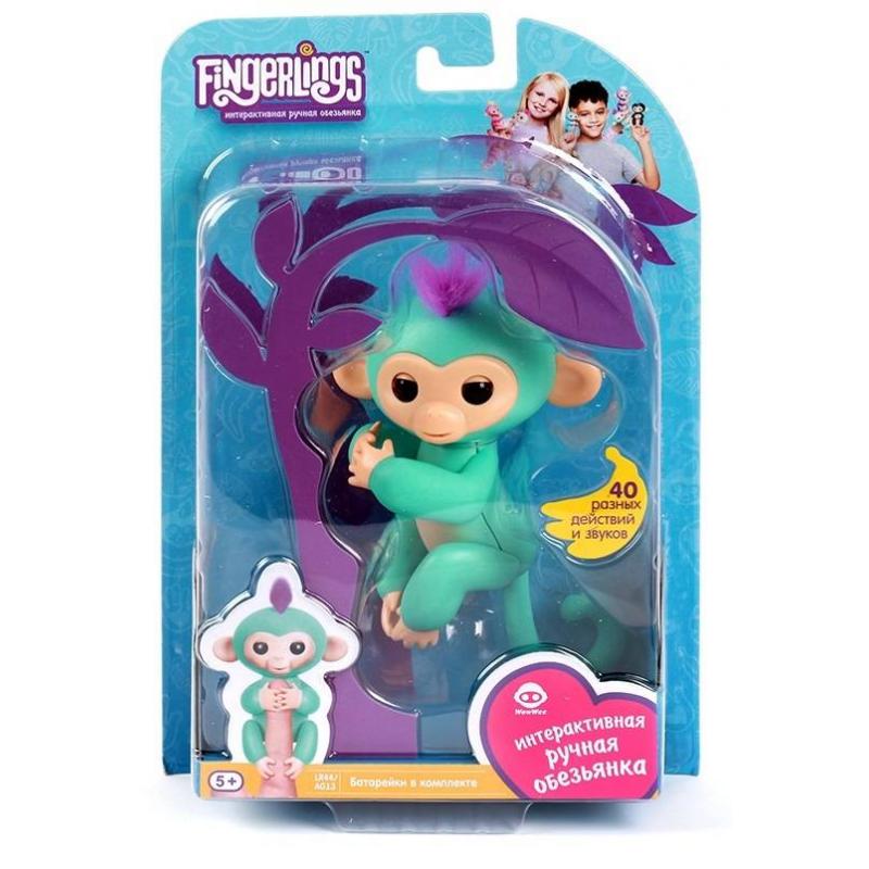 WowWee Интерактивная игрушка Обезьянка Зоя fancy сумка рюкзак детская обезьянка