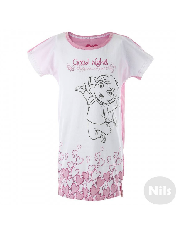 Ночная рубашка Button Blue (розовый)