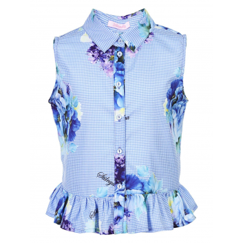 Девочки, Блузка Stilnyashka (голубой)480229, фото