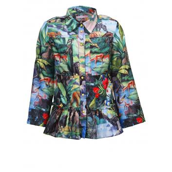 Девочки, Рубашка Stilnyashka (зеленый)480324, фото