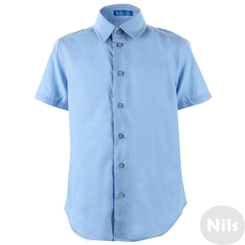 СорочкаСорочка голубого цвета с коротким рукавом марки Button Blue для мальчиков. Сорочка имеет классический крой, в нижней части планки фирменная вышивка.Хлопок в составе рубашки отвечает за гигиенические свойства, а полиэстер делает сорочку долговечной и легкой в уходе.Сорочка станет незаменимой частью школьной формы для теплого времени года.<br>Размер сорочки указан как: Рост/ Обхват груди/ Обхват талии<br><br>Размер: 12 лет<br>Цвет: Голубой<br>Размер: 152/76/66<br>Пол: Для мальчика<br>Артикул: 615195<br>Страна производитель: Китай<br>Сезон: Всесезонный<br>Состав: 50% Хлопок, 50% Полиэстер<br>Бренд: Россия<br>Воротник: Классический<br>Рукава: Короткие