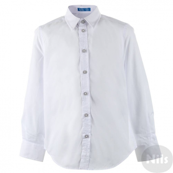 Мальчики, Сорочка Button Blue (белый)615171, фото