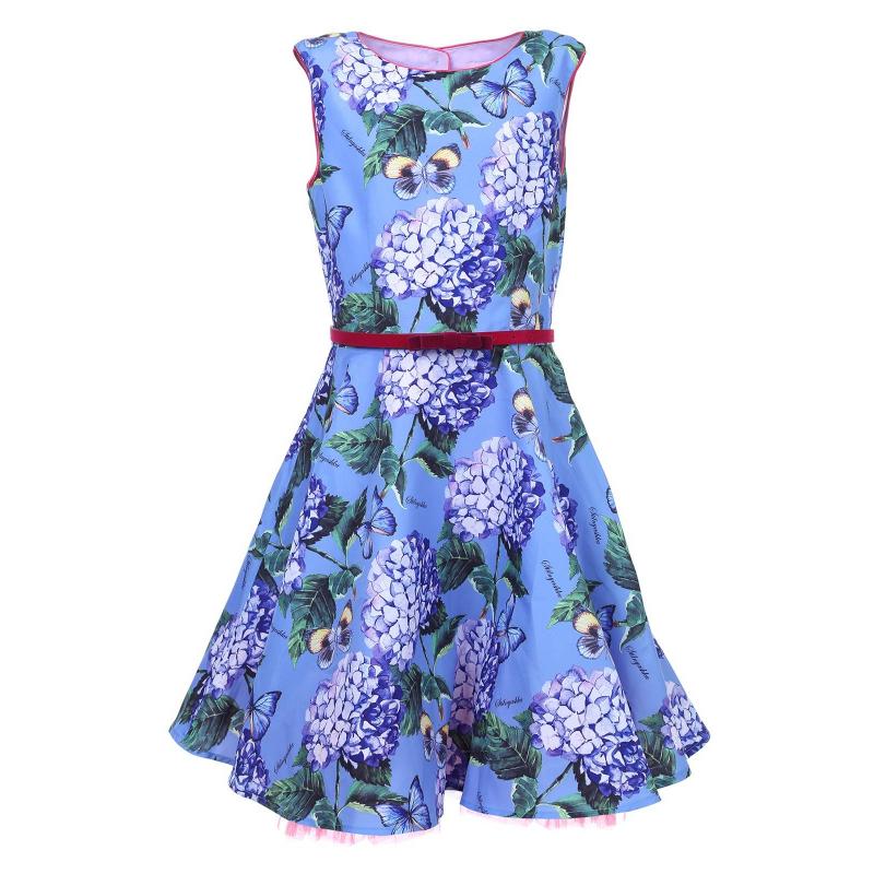 Stilnyashka Платье куртка голубого цвета brums ут 00008775