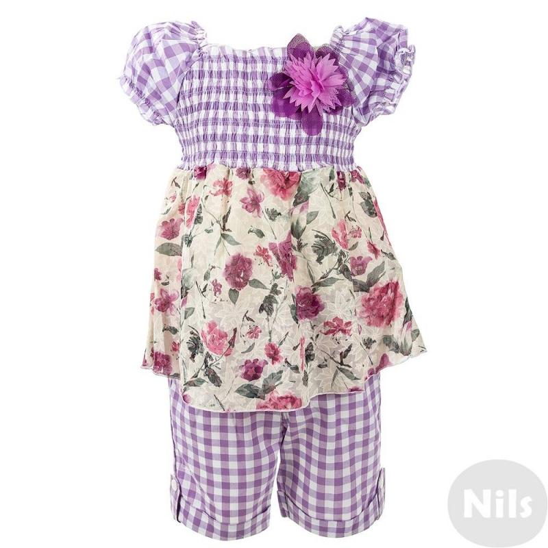 Anco Комплект anco anco платье ткань в ромбик молочное