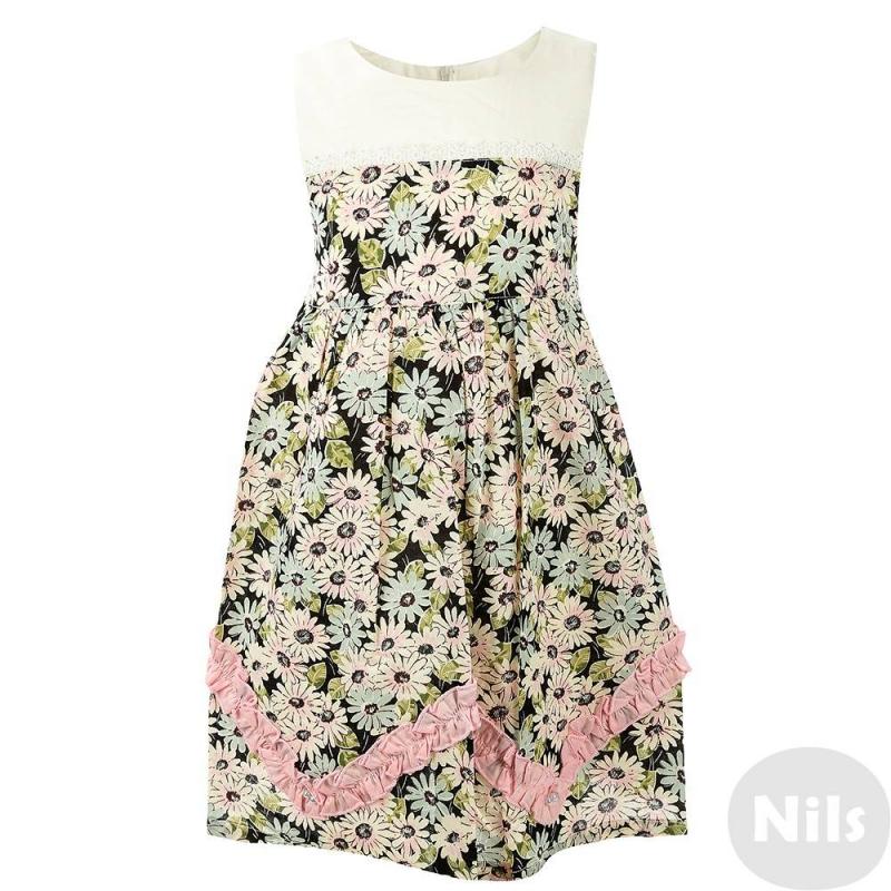 Anco Платье anco anco платье ткань в ромбик молочное