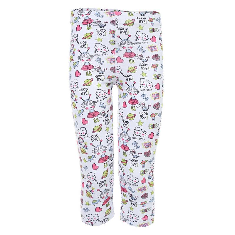 Купить Леггинсы, MAYORAL, Белый, 4 года, 104, Для девочки, 107065, Всесезон, Весна/Лето, Турция