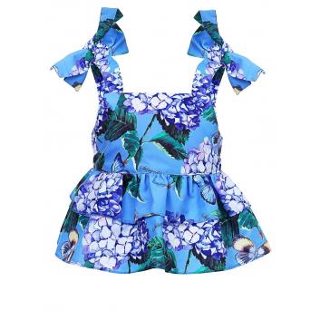 Девочки, Блузка Stilnyashka (голубой)480171, фото