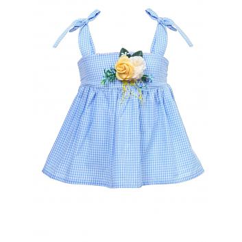 Девочки, Блузка Stilnyashka (голубой)480179, фото
