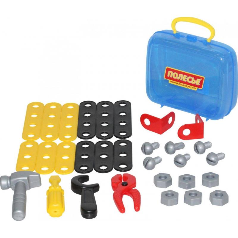Купить Игровой набор Механик 30 элементов, Полесье, от 3 лет, Для мальчика, 473294