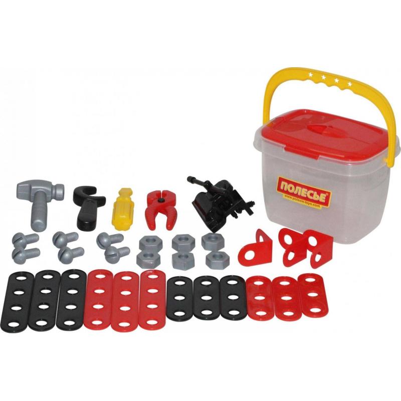 Купить Игровой набор Механик 32 элемента, Полесье, от 3 лет, Для мальчика, 473295