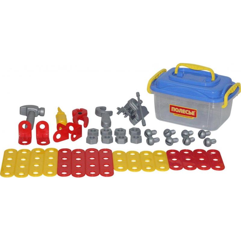 Купить Игровой набор Механик 41 элемент, Полесье, от 3 лет, Для мальчика, 473296